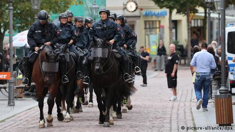 """""""مظاهرات يحتمل أن تكون خطيرة""""..وتأهب أمني في مدينة ألمانية 2"""