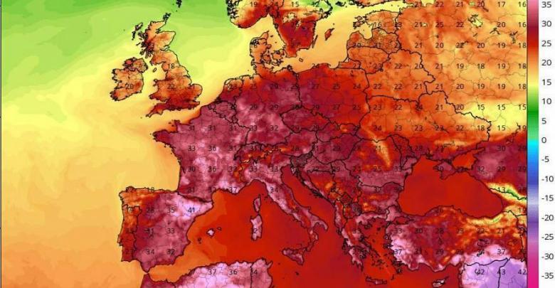 الأحوال الجوية في أوروبا