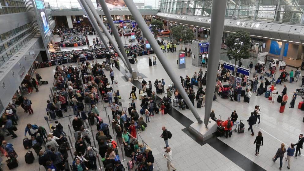 فوضى في مطار ألماني