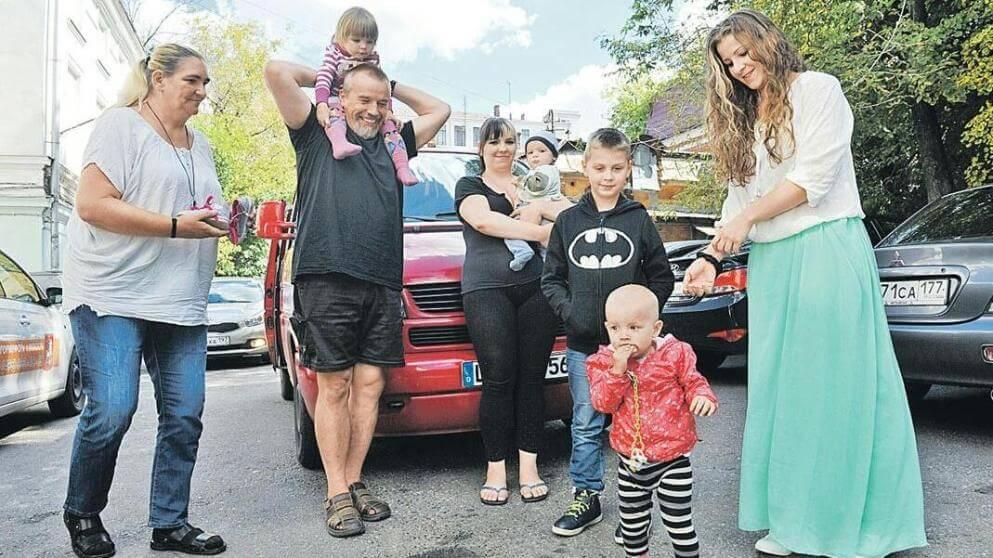 عائلة ألمانية تحصل على حق اللجوء في روسيا
