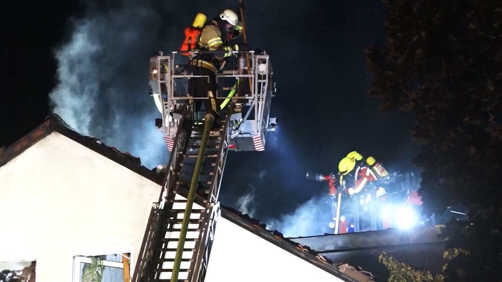 حريق ضخم في مبنى سكني و إجلاء عشرات السكان في ألمانيا