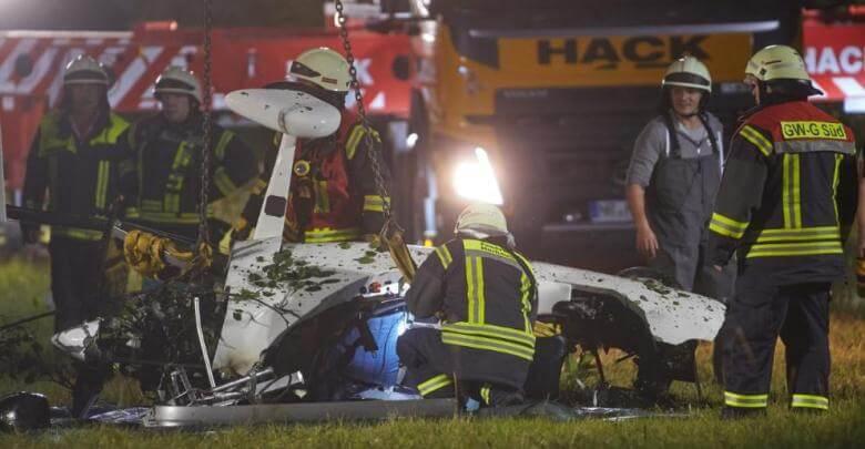 حادث تحطم طائرة يودي بحياة شخصين في ألمانيا