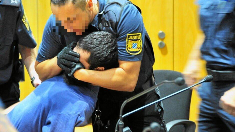 محاكمة لاجئ عربي هدد بالانتقام من الألمان
