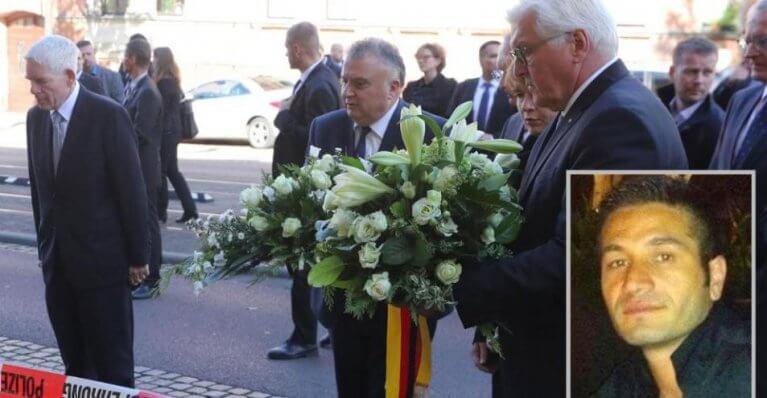 الرئيس الألماني يتضامن مع مالك محل شاورما 6