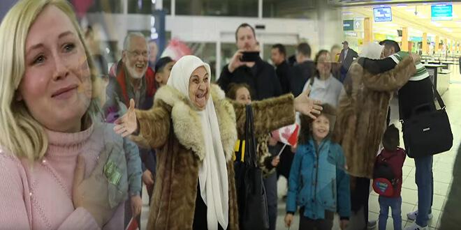 عائلة كندية تتبرع بأموال إحضار جثمان ابنها المتوفى ببلد آخر للم شمل سوري بعائلته في كندا