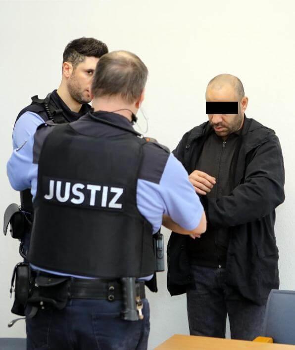 سوري متهم بالقتل الغير العمد في مدينةٍ ألمانية