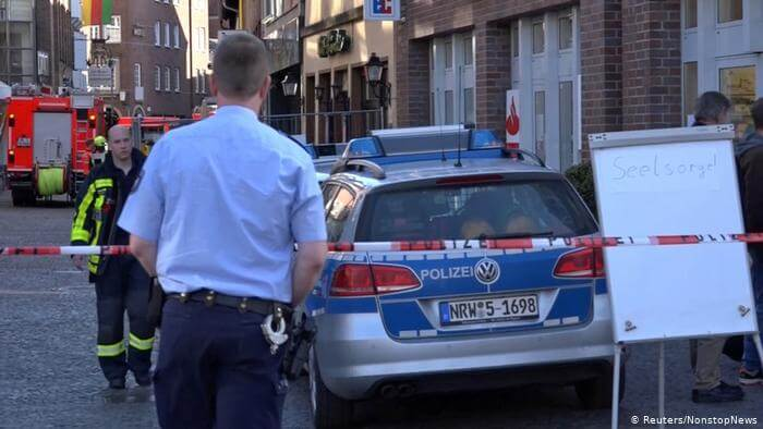 إصابة امرأة بالرصاص خلال عملية لشرطة الألمانية