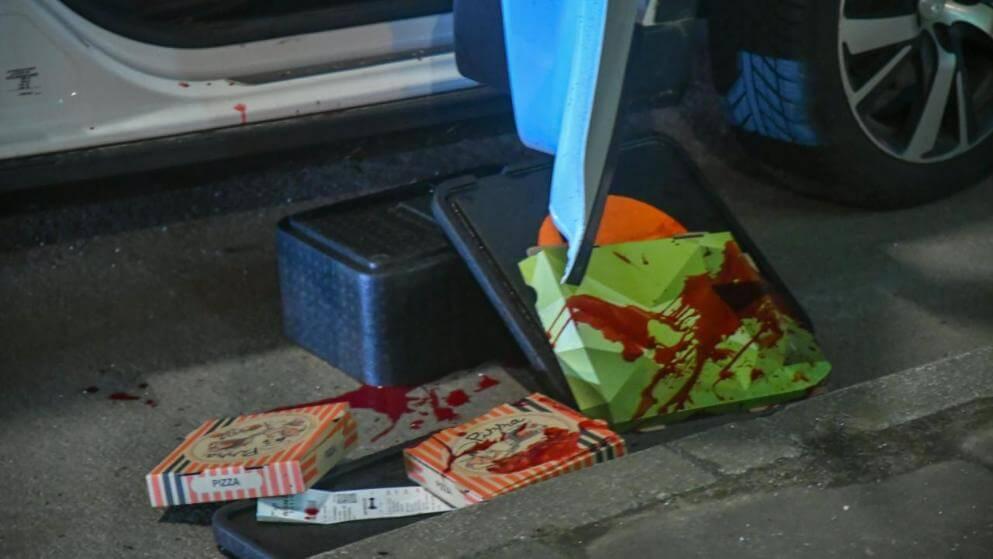 هجوم مروع على عامل توصيل البيتزا في مدينة ألمانية