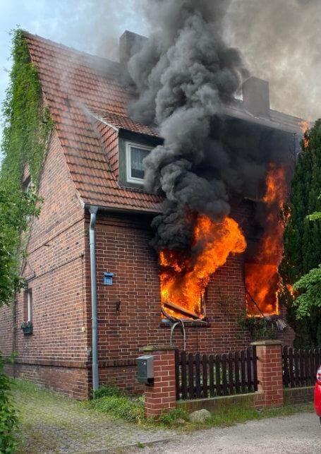 دخان كثيف في منزل في مدينة ألمانية