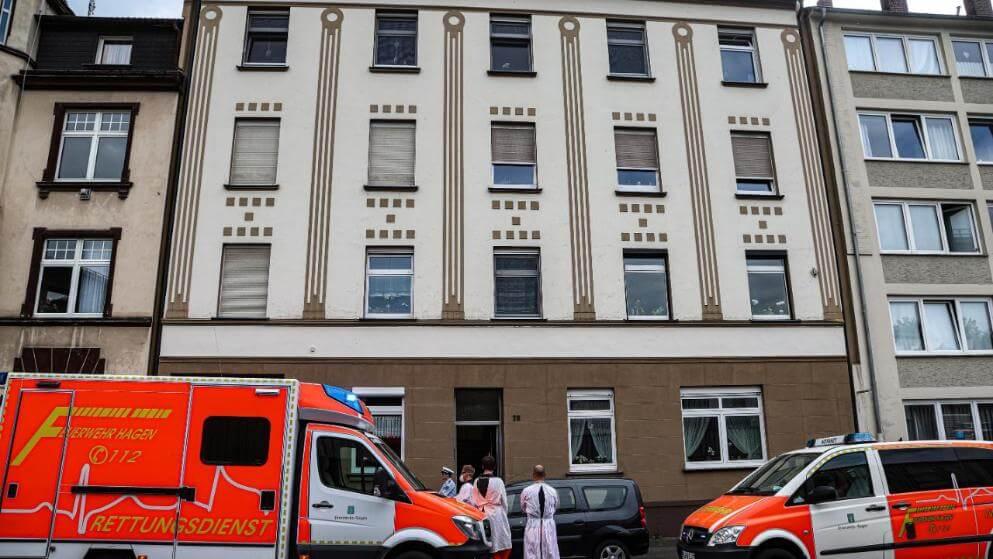 العثور على جثة في مبنى سكني في مدينة ألمانية