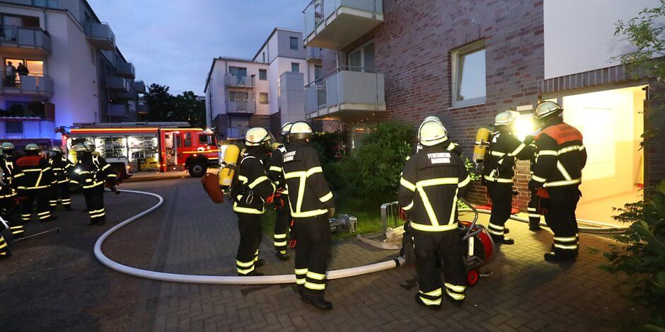 اندلاع حريق في مبنى سكني في مدينة ألمانية