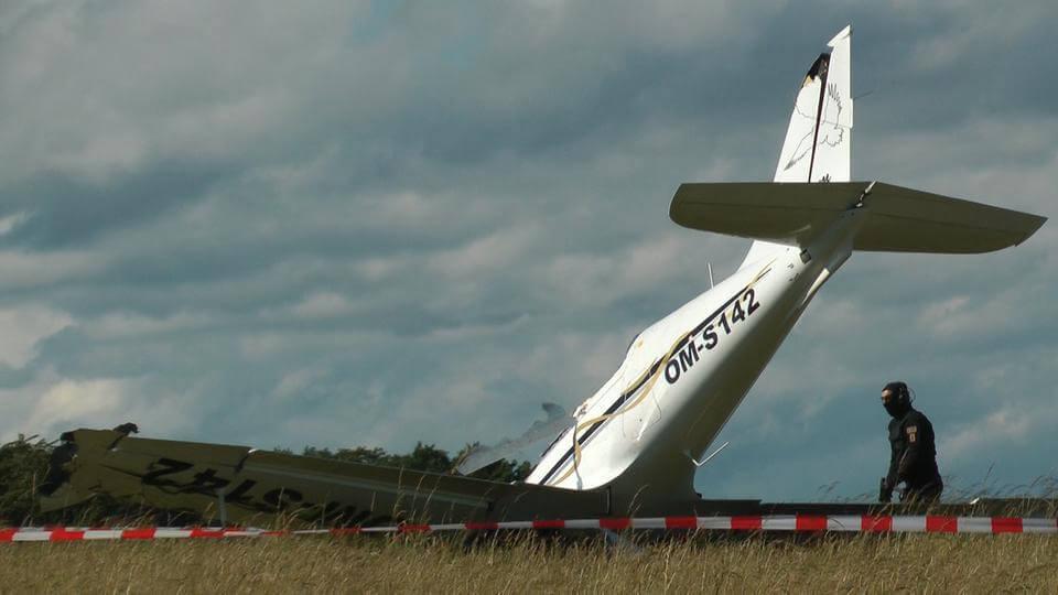 تحطم طائرة صغيرة بعد الإقلاع في مدينة ألمانية