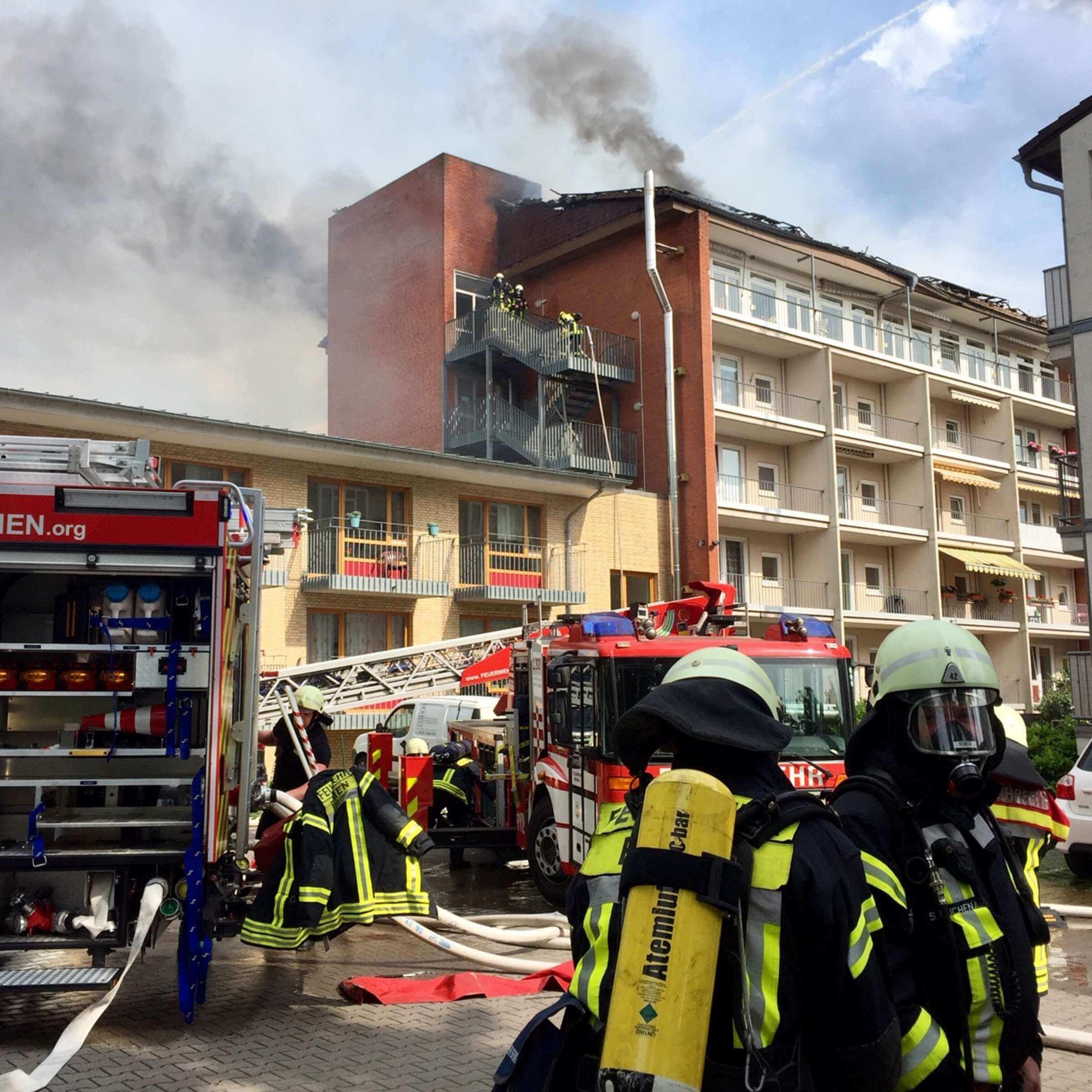 اندلاع حريق في دار المسنين في ضاحية ألمانية