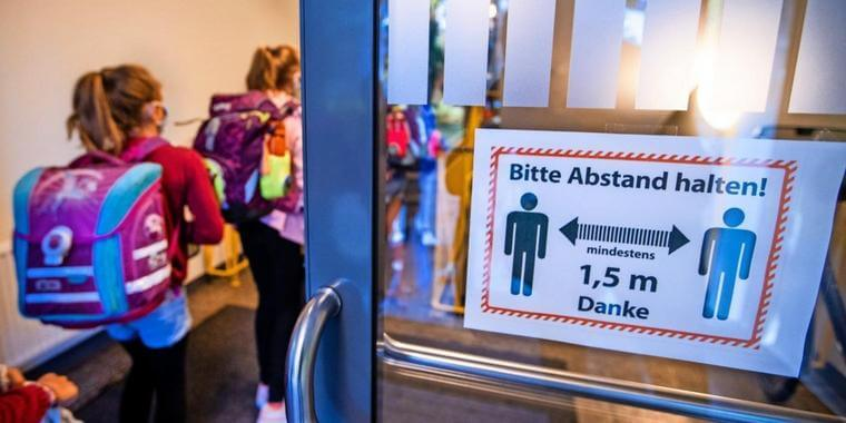 إغلاق مدرستين في مدينة ألمانية