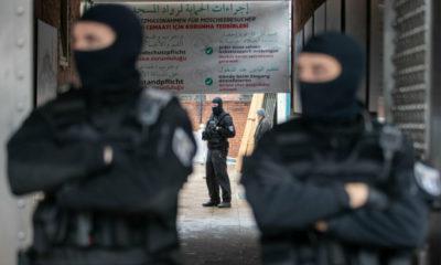 عملية كبيرة مداهمة وتفتيش مسجد وست أماكن في مدينة ألمانية