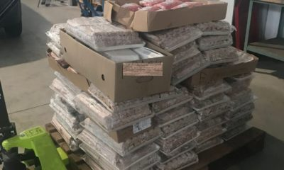 الشرطة توقف نقل كمية كبيرة من اللحوم الفاسدة إلى ألمانيا
