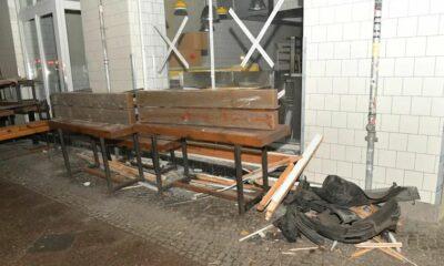 حادث مريع أمام محل برغر في مدينة ألمانية