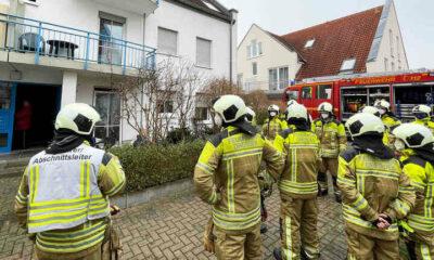 اندلاع حرائق في مبنى سكني في مدينة ألمانية ومنع رجال الإطفاء من إخمادها