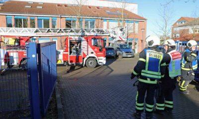 اشتعال النيران بعد تجربة كيميائية في مدرسة مدينة ألمانية