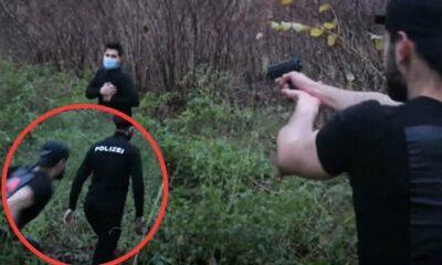 يوتيوبر سوري يوقع نفسه في ورطة ويتسبب باستفزاز وغضب في ألمانيا