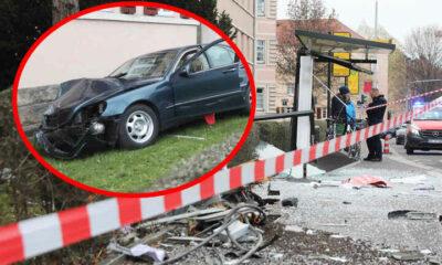سيارة تدخل محطة للحافلات في مدينة ألمانية وتجرح المارة